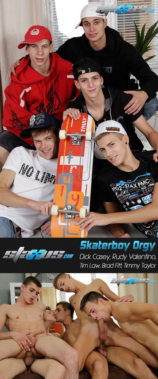 Skaterboy Orgy