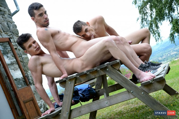 Orlando White, Gabriel Angel and Josh Milk